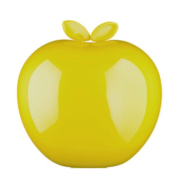 Frischhaltebox in knalliger Apfel-Optik