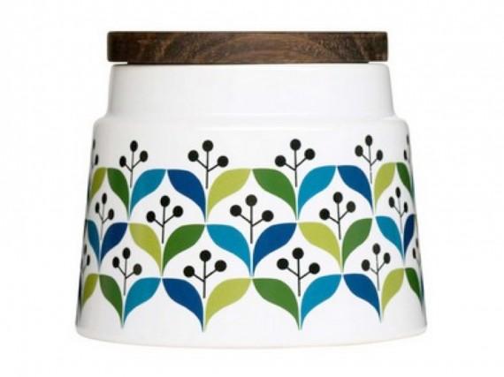 Keramik-Schüssel für Dessert & Co im Retro-Look