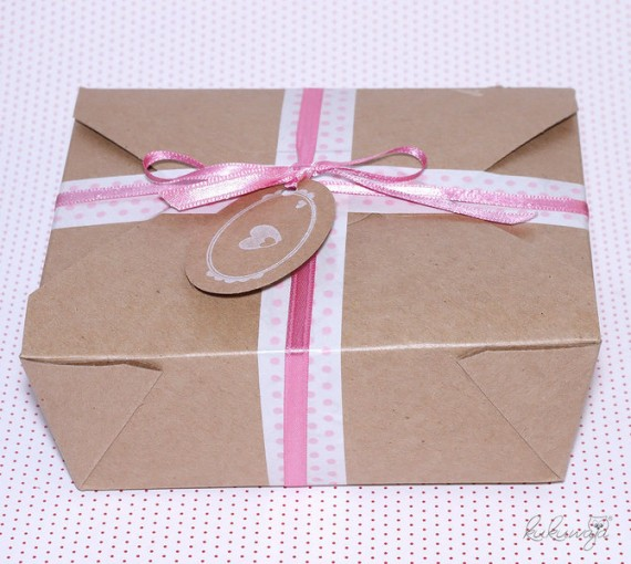 Verpackung Kuchen-Schachtel