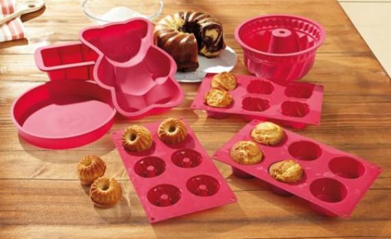 Backformen für Kuchen und Torten