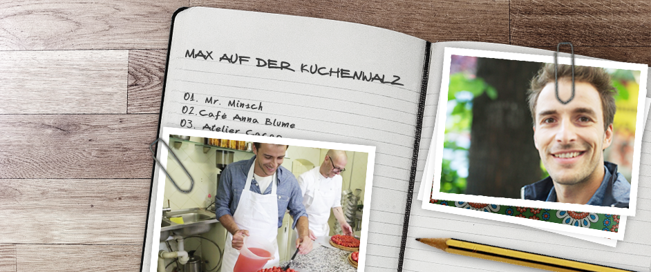 Max auf der KuchenwalzTradition trifft Moderne