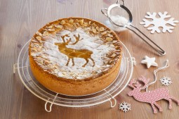 Kuchen weihnachtlich verzieren