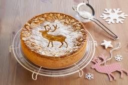 Kuchen weihnachtlich verzieren