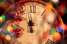Der Silvester-Countdown läuft