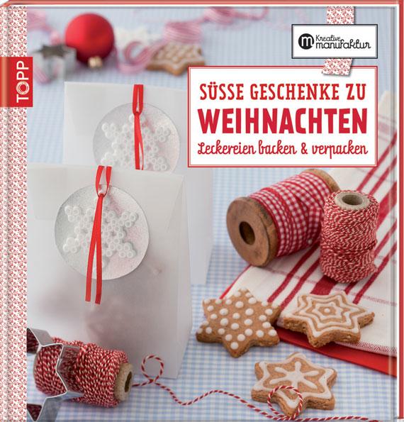 Backbücher zu Weihnachten für süße Geschenke