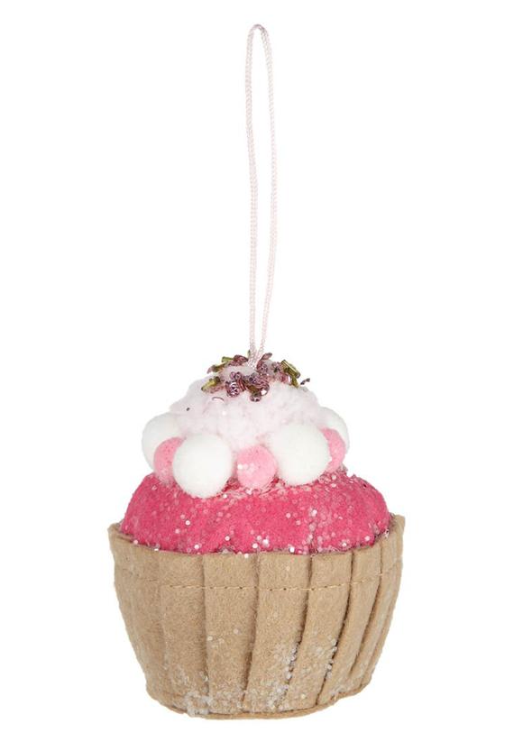 Baumschmuck Cupcake