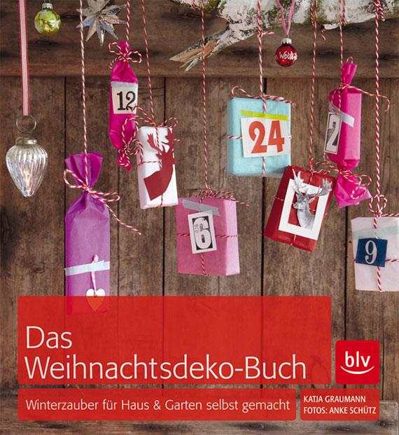 Buch Weihnachtsdeko