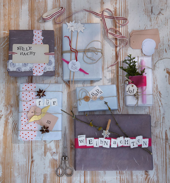 Kreative Weihnachtsgeschenke verpacken