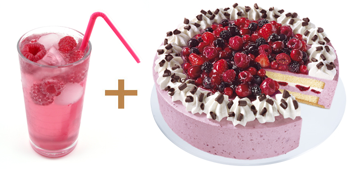 Mix_and_Match_Himbeeressig und Waldbeerentorte_2er_Bildreihe