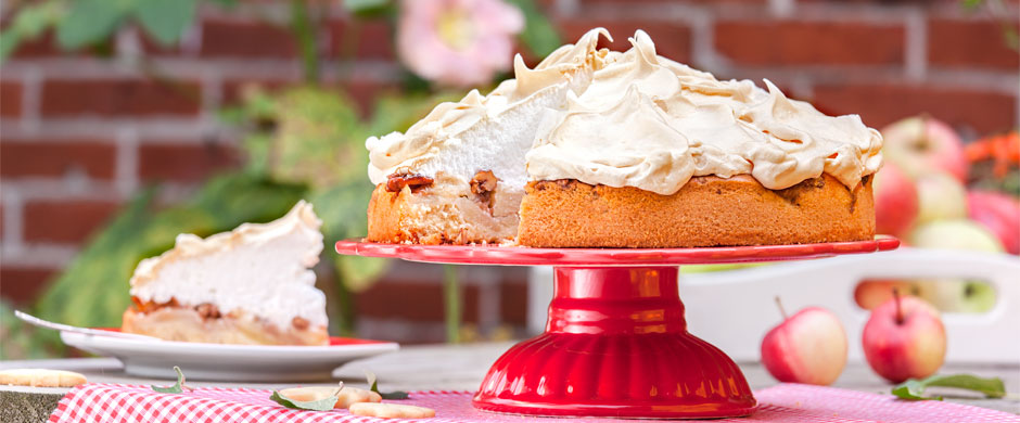 Apfel-Fest:Kuchen-Buffet im Garten Eden