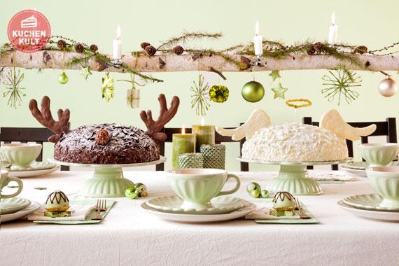 himmlische torten zu weihnachten. Black Bedroom Furniture Sets. Home Design Ideas
