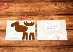 Weihnachtskarten selbstgemacht: W(elch) eine Freude! Zum Ausdrucken und Weitergestalten