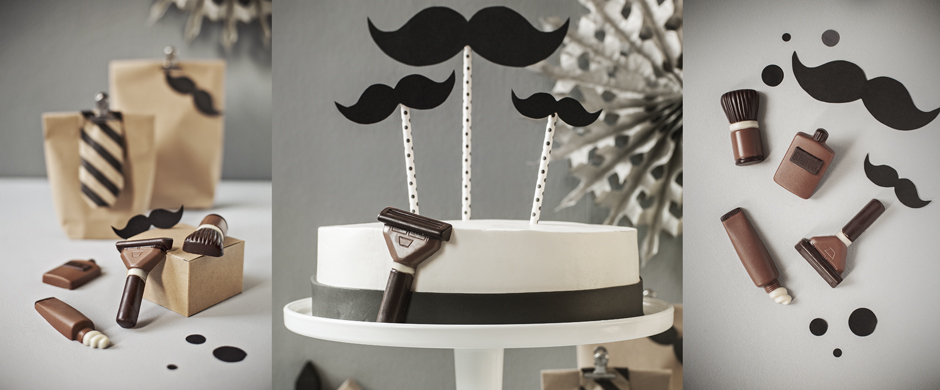 Der neue Torten-Trend:Ich trage Bart