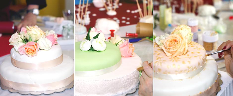 Hochzeits-DIY-WorkshopRückblick auf einen tollen Tag mit wunderbaren Hochzeitstorten