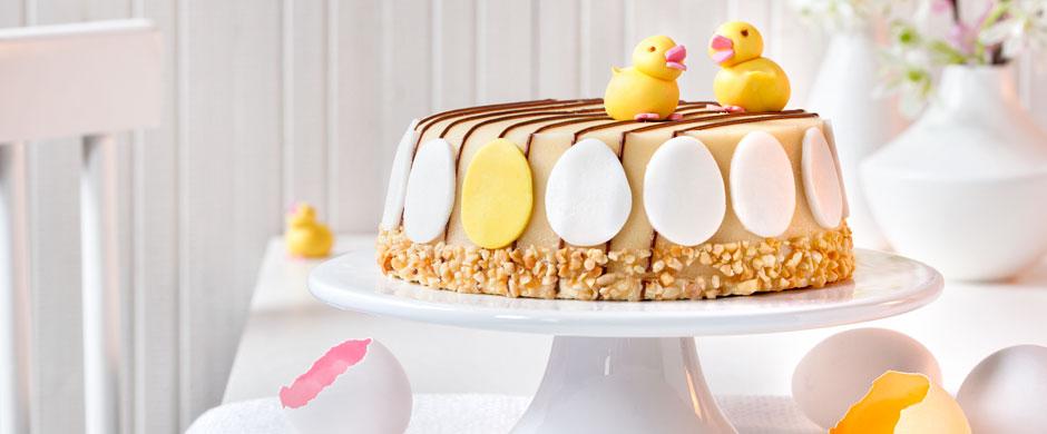 Torte zum OsterfestEi, wie schön!