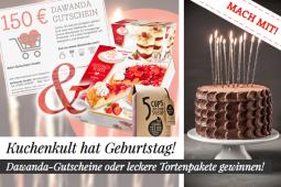 Gewinnspiel zum 3. Geburtstag von Kuchenkult – mit tollen Geschenken