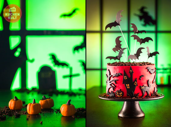 halloween kuchen grauenhaft gut. Black Bedroom Furniture Sets. Home Design Ideas