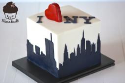 Skyline-Motivtorten selber machen: New York und Co zum Anbeißen