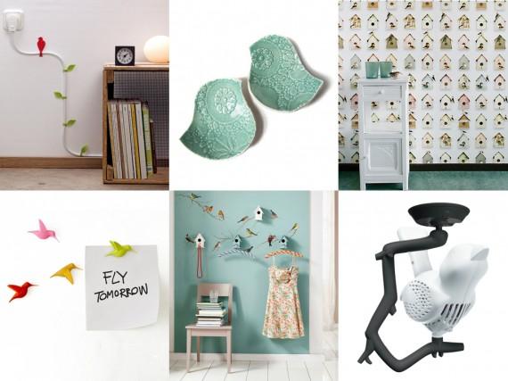fr hlingsdeko mit deko v gelchen s e fr hlingsdeko ideen. Black Bedroom Furniture Sets. Home Design Ideas