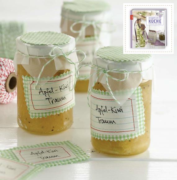 Apfel-Kiwi-Marmelade selber machen