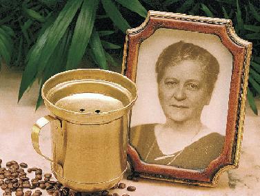 Erfinderin des Kaffeefilters