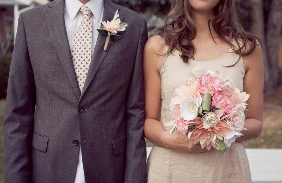 Für das Hochzeitspaar nur das Beste! Deko einfach selber machen