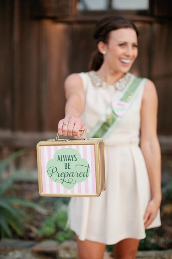 Ein Brautkoffer für alle Fälle - eine von vielen tollen Hochzeitsideen