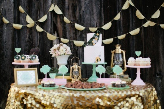 Tischdeko zur Hochzeit einfach selber machen