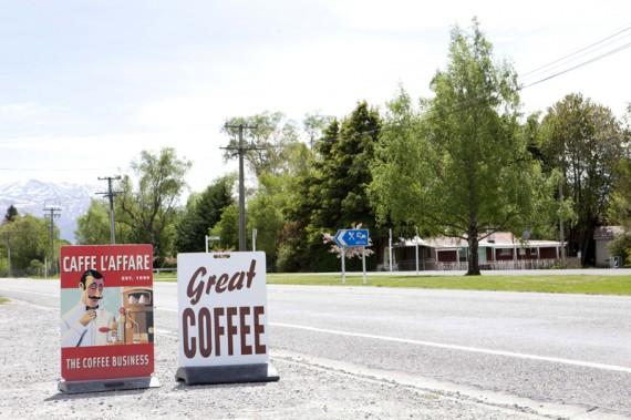 Tolle Kaffee-Tipps am Straßenrand