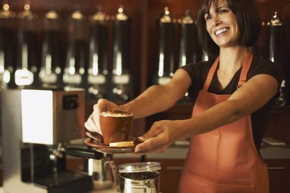 Schöne Cafés mit gutem Service