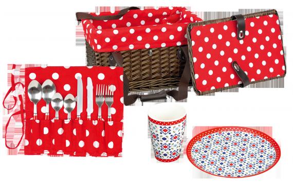 Alles in einem fürs Picknick