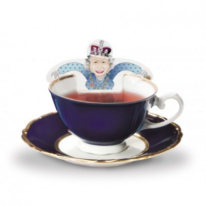 Kaffeegeschirr kreativ Queen