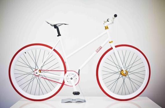 Erdbeer-Variationen Bike