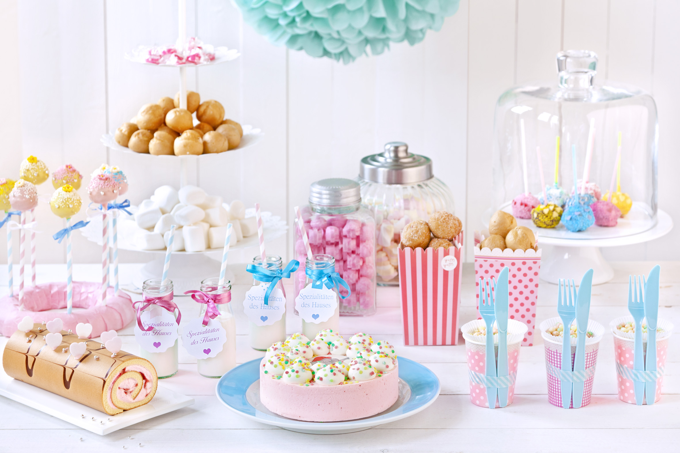 Babyparty deko babyparty ideen s e babyparty - Baby shower party ideen ...