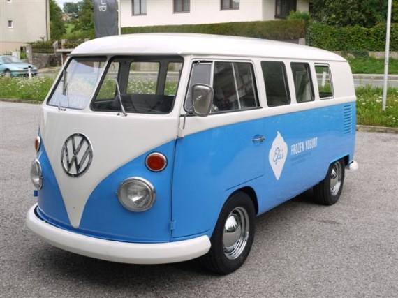 Rollende Eisdiele VW Bullie