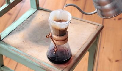 Filterkaffee zum Mousse au Chocolat