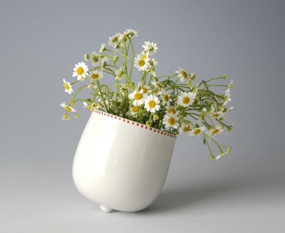Blumenvase von DaWanda