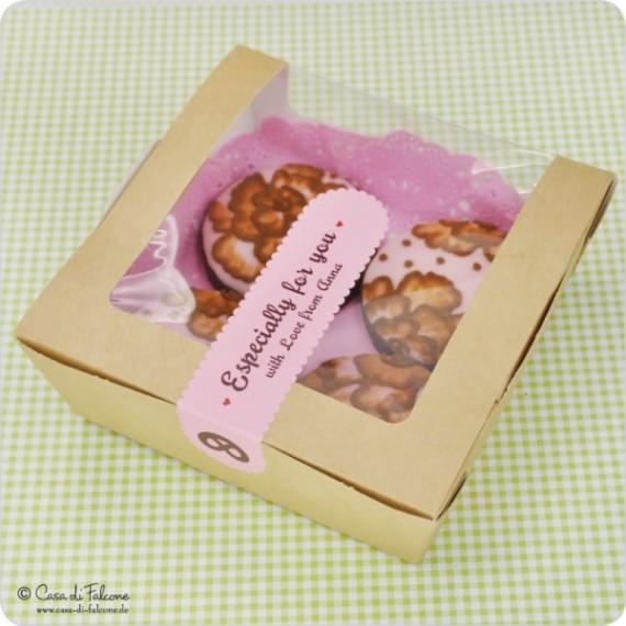 Verpackung Cupcake-Box