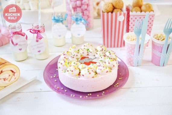 Kuchen deko fur babyparty