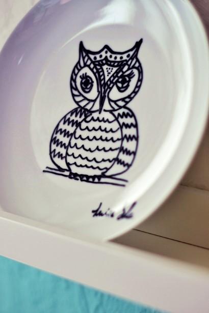 Tierische Motive auf das Porzellan malen