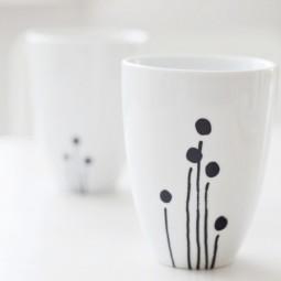 DIY – Kaffee-Porzellan kreativ verzieren