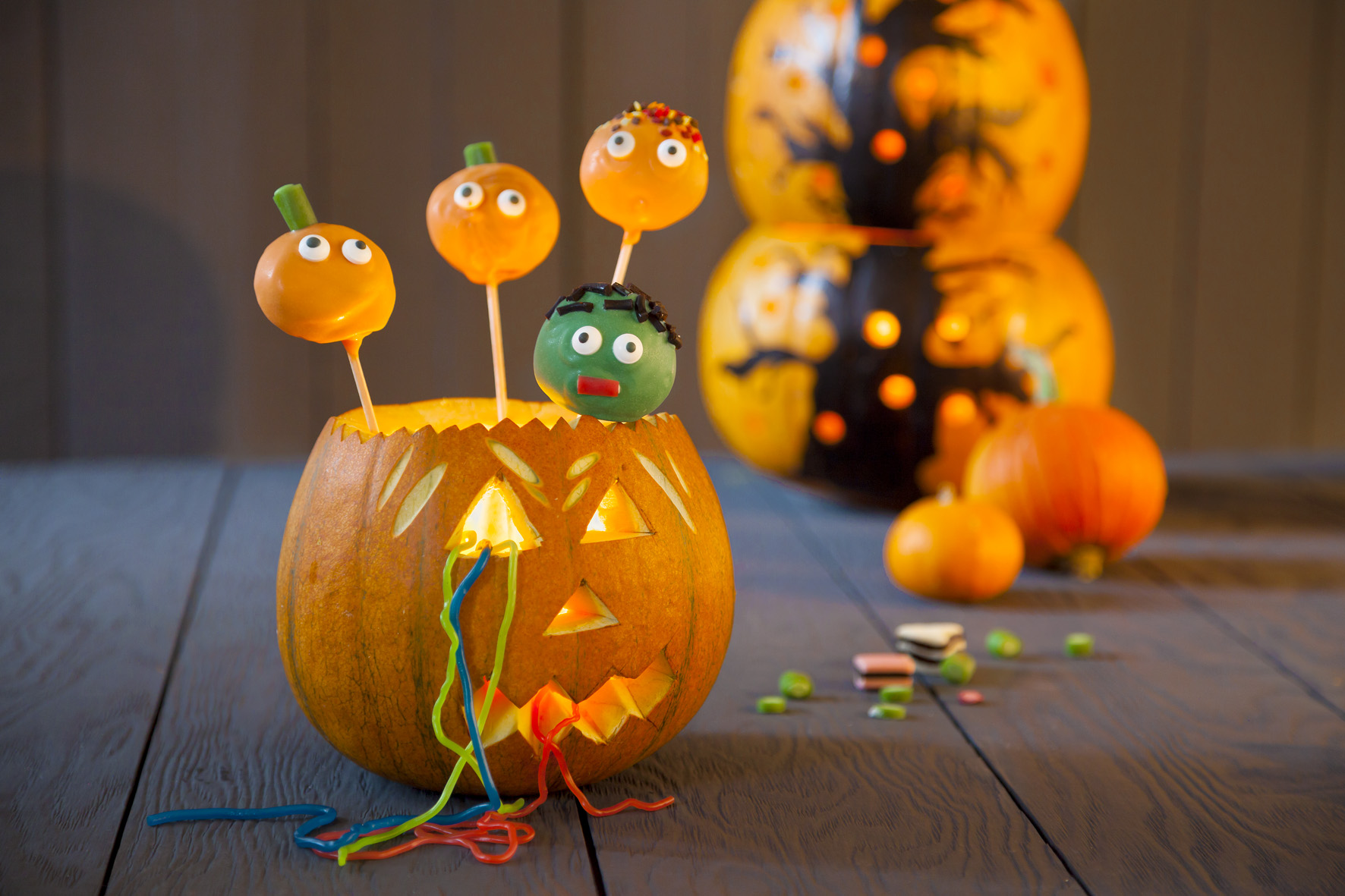 halloween deko selber machen: diy halloween party deko »