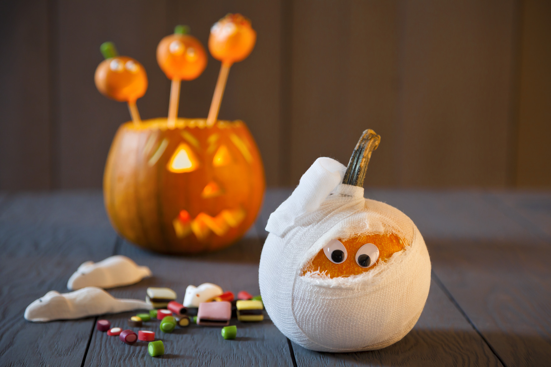 Halloween Deko selber machen: DIY Halloween Party Deko
