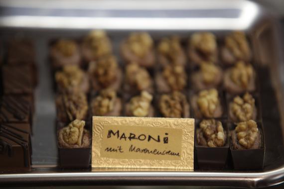 "Schokoladenkombinationen im ""Atelier Cacao"""