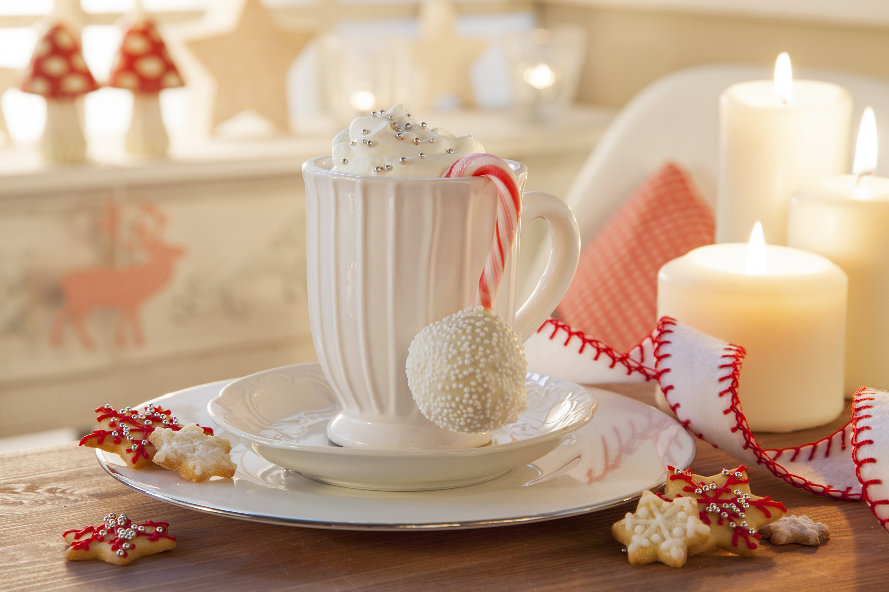 Advents-Kaffeetafel Cake-Pop