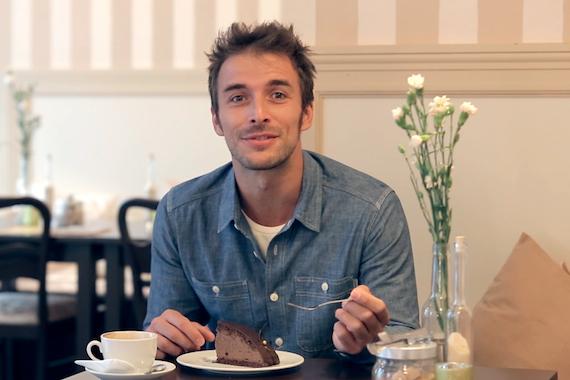 Max im Atelier Cacao