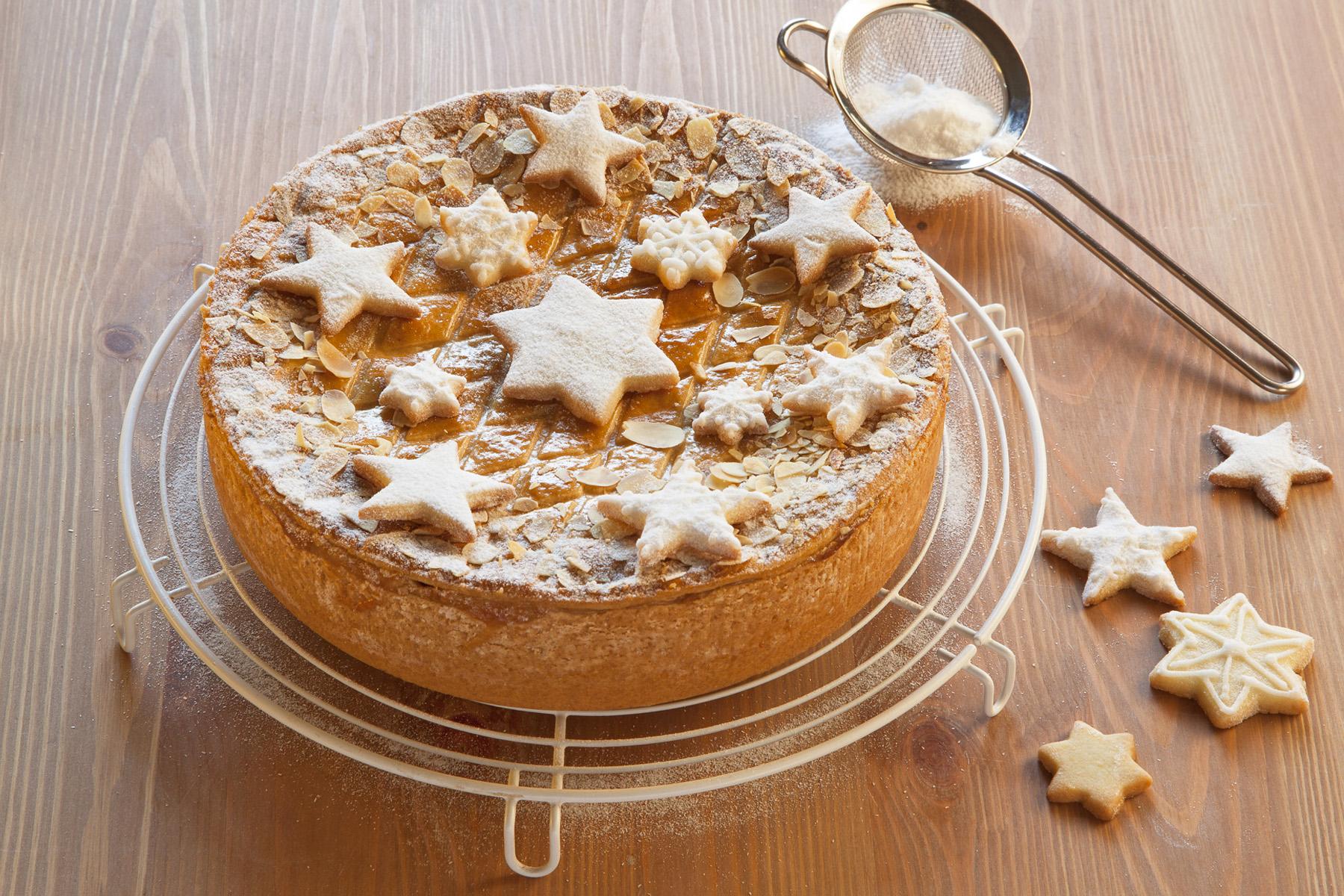 Kuchen weihnachtlich verzieren 2