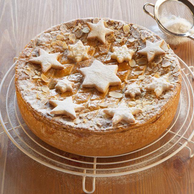 Kuchen weihnachtlich verzieren 4