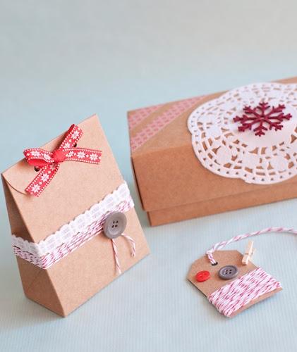 Kreative Weihnachtsgeschenke aus Karton