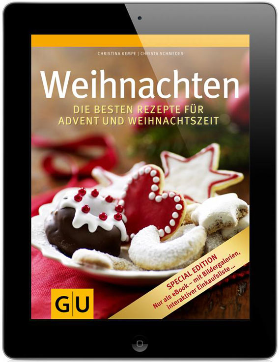 Backbücher zu Weihnachten vom GU-Verlag